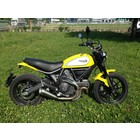Spark Exhaust Technology Scrambler 60's style silencer open version