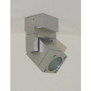 R&M Line Vierkant LED opbouwspot IP54 230v GU10 5w warm-wit dimbaar