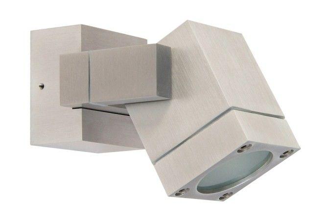 R m line aluminium opbouwspot vierkant 230v gu10 r m verlichting - Badkamer kantelen ...