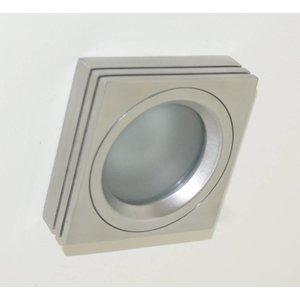 R&M Line Inbouwspot / badkamerlamp Piston Q IP65 aluminium-mat