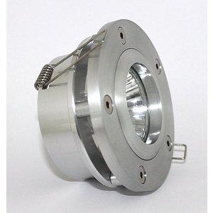 R&M Line Design inbouwspot Silver penta aluminium