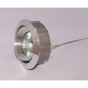 R&M Line Kantelbare aluminium Inbouwspot Silver Tilt 050
