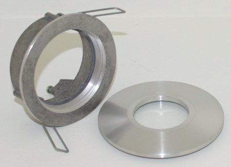 12v Spotjes Badkamer : R m line inbouwspot badkamerlamp minismooth ip alu mat r m
