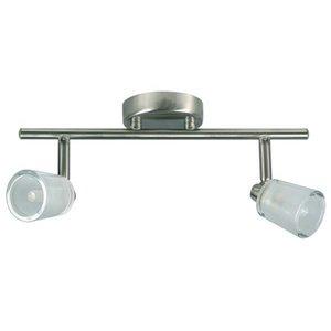 Basic balkspot 2 lichts 230v 2xG9 40w