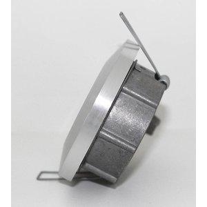R&M Line Inbouwspot / badkamerlamp Smooth IP65 alu-mat kantelbaar
