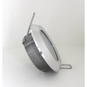 R&M Line Inbouwspot / badkamerlamp Steam flat IP65 Alu-Mat