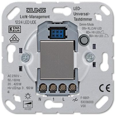 Jung Led Dimmer Universal 1224 Led Ude R M Lighting