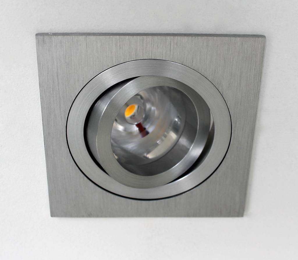 led inbouwspot vierkant aluminium 9w ip65 dimbaar r m verlichting r m verlichting. Black Bedroom Furniture Sets. Home Design Ideas