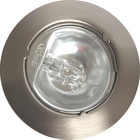 R&M Line Cabinet downlight satin nickel 12v g4