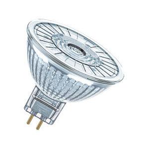 Osram LED Superstar 12v MR16 GU5.3 3w=20w 36gr 230lm 2700k dimbaar