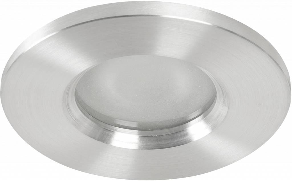 Badkamer inbouwspot Basic fix IP54 230v alu | R&M Verlichting - R&M ...