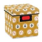 Atomic Soda Vierkante doos met deksel en etiket