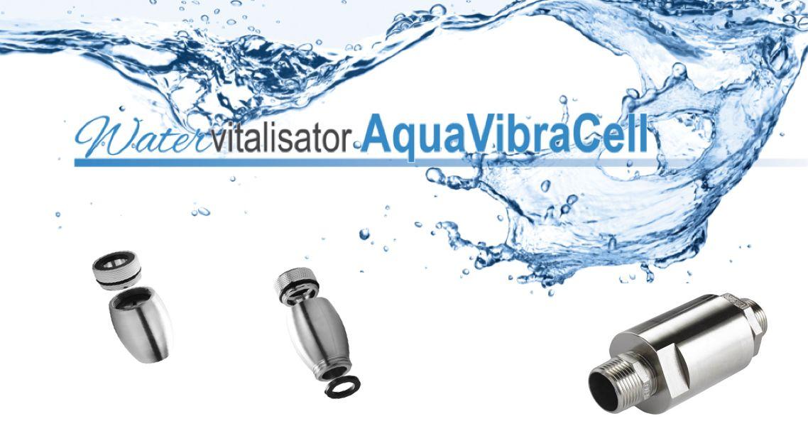 Watervitalisator AquaVibraCell voor Vitaal Water