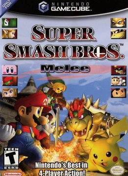 Gamecube Super Smash Brothers Melee