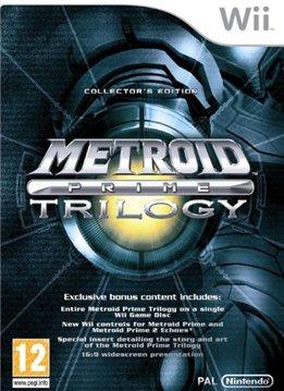 Wii Metroid Prime Trilogy
