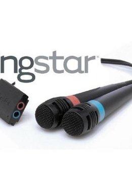 PS3 Set van 2 Singstar Microfoons