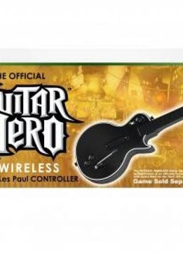 Xbox 360 Guitar Hero Legends of Rock incl. Wireless Gitaar