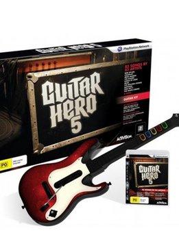PS3 Guitar Hero 5 incl. Wireless Gitaar