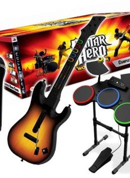 PS3 Guitar Hero World Tour Super Bundel