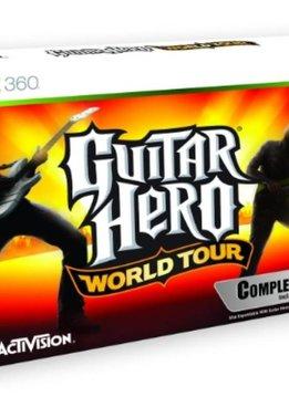 Xbox 360 Guitar Hero World Tour incl. Gitaar
