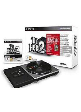 PS3 DJ Hero 1 & 2 (incl. controller)