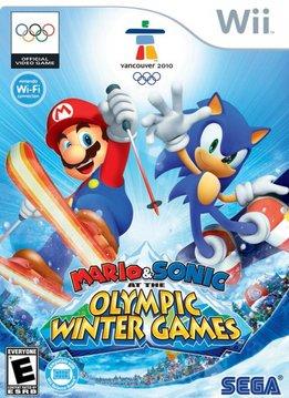 Wii Mario & Sonic Olympische Winterspelen