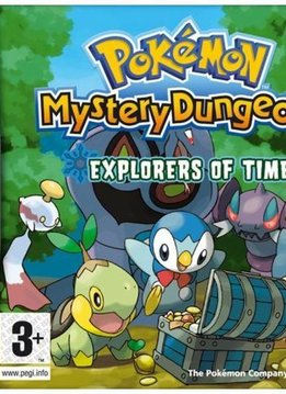 DS Pokemon Mystery Dungeon: Explorers of Time
