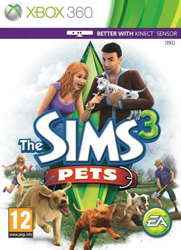 Xbox 360 Sims 3 Pets (Beestenbende)