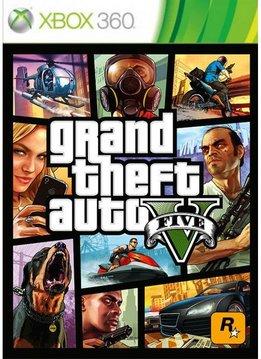 Xbox 360 GTA 5 (V)