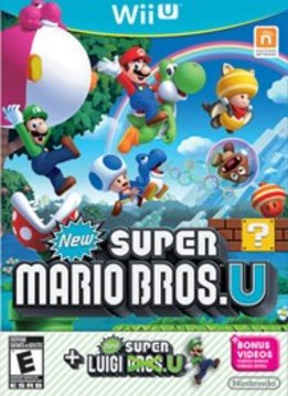 Wii U New Super Mario Bros. U + New Super Luigi U