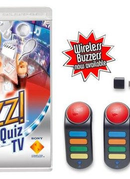 PS3 Buzz! Quiz TV met 4 Buzzers