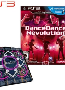 PS3 Dance Dance Revolution New Moves met Dansmat