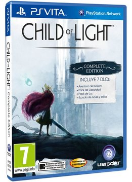 PS Vita Child of Light Complete Edition