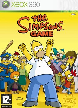 Xbox 360 The Simpsons Game