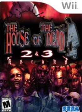 Wii House of the Dead 2 & 3 Return verkopen