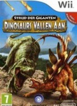 Wii Strijd der Giganten Dinosaurs vallen aan verkopen