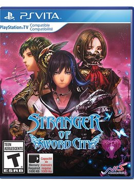 PS Vita Stranger of Sword City verkopen