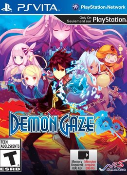 PS Vita Demon Gaze verkopen