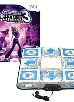 Wii Dance Dance Revolution Hottest Party 3 met Dansmat verkopen