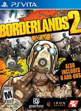 PS Vita Borderlands 2 verkopen