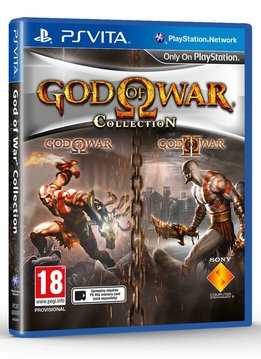 PS Vita God of War Collection verkopen