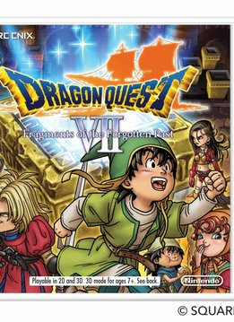 3DS Dragon Quest VII Fragments of the Forgotten Past