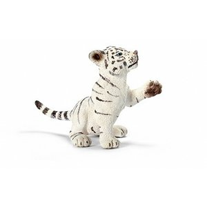 Schleich Bebe Tigre Blanc, Jouant 14385