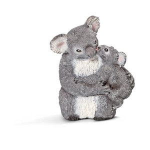 Schleich Koala Femelle Avec Jeune Koala 14677