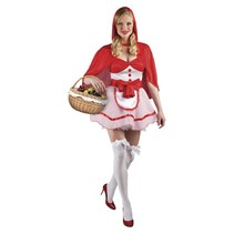 Roodkapje Kostuum Deluxe