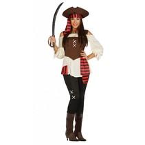 Piraten Kostuum Dames M/L