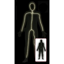Morphsuit Stick Woman M/L