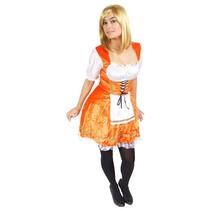 Oranje Serveerster Kostuum M/L