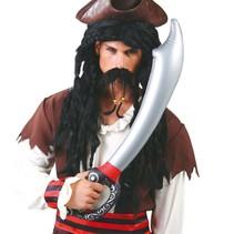 Piraten Zwaard Opblaasbaar 70cm