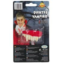 Vampier Tanden Bovengebit met lijm
